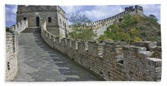 The Great Wall Of China At Mutianyu 1 Beach Towel