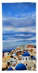 The Greek Isles-oia Beach Towel