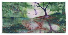 The Hanging Tree  Beach Towel