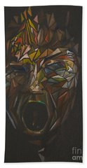 The Head Of Goliath - After Caravaggio Beach Towel