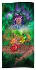 The Healing Garden Beach Sheet
