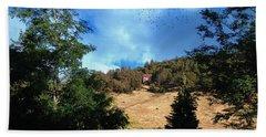 The Hillsides Of Julian Beach Sheet