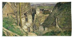 The House Of The Hanged Man, Auvers-sur-oise, 1873 Oil On Canvas For Details See 67878 & 67879 Beach Towel