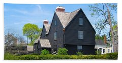 The House Of The Seven Gables Beach Towel