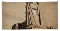 The House Of The Temple Sphinx #2 Beach Towel