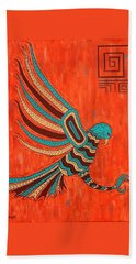 The Hunter Beach Towel by Susie WEBER