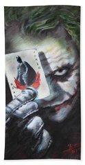 The Joker Heath Ledger  Beach Sheet
