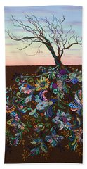 The Journey Beach Towel by James W Johnson