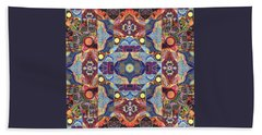 The Joy Of Design Mandala Series Puzzle 1 Arrangement 1 Beach Towel