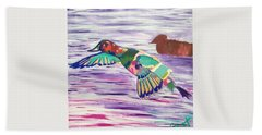The King Canvasback Beach Towel