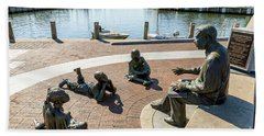 The Kunta Kinte-alex Haley Memorial In Annapolis Beach Towel