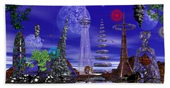 Beach Towel featuring the photograph The Lakes Of Zorg by Mark Blauhoefer