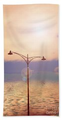 The Lampost Beach Towel