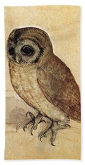 The Little Owl 1508 Beach Towel