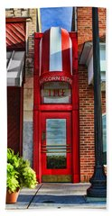 The Little Popcorn Shop In Wheaton Beach Towel