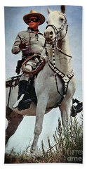The Lone Ranger Beach Towel by Bob Hislop