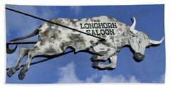 The Longhorn Saloon Beach Towel