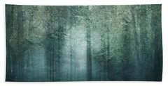 Beach Sheet featuring the photograph The Magic Forest by Sharon Johnstone