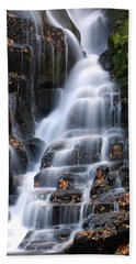 The Magic Of Waterfalls Beach Towel