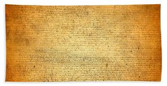 The Magna Carta 1215 Beach Towel
