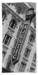 The Majestic Theater Dallas #3 Beach Towel by Robert ONeil