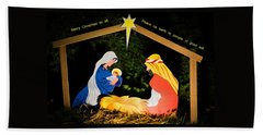 O Holy Night Beach Sheet
