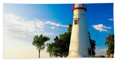 The Marblehead Light Beach Towel
