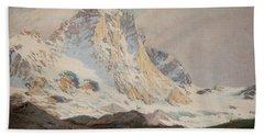 The Matterhorn, 1910 Beach Towel