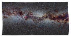 The Milky Way From Scorpio And Antares To Perseus Beach Towel