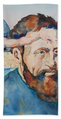 The Mind Of Michelangelo Beach Towel by Michele Myers