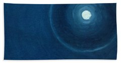 The Moon II Beach Towel