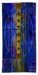 The Musical Abstraction Beach Towel