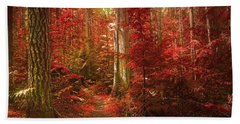 The Mystic Forest Beach Towel