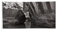 The Narrows II Beach Towel