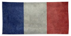 The National Flag Of France Beach Towel