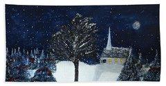 The Night Before Christmas Beach Sheet