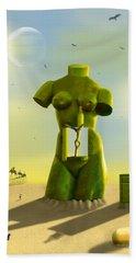 The Nightstand Beach Towel by Mike McGlothlen