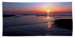 The North Sea Beach Towel