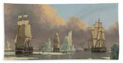 The Northern Whale Fishery Beach Towel
