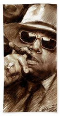 The Notorious B.i.g. Beach Towel