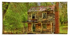 The Old Home Place Beach Towel by Dan Stone