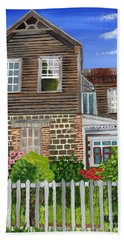 The Old House Beach Towel by Laura Forde