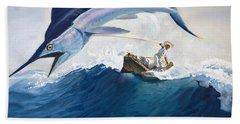 Reel Paintings Beach Towels