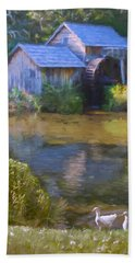 The Old Mill At Mabry Beach Towel