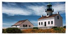 The Old Point Loma Lighthouse By Diana Sainz Beach Sheet
