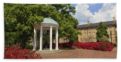 The Old Well At Chapel Hill Campus Beach Towel