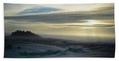 The Oregon Coast Has Many Moods Beach Towel