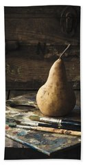 The Painter's Pear Beach Towel