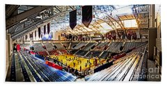 The Palestra In The Afternoon Beach Towel