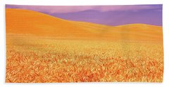 The Palouse Steptoe Butte Beach Towel